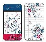 Pierre Belvedere 076950 Schutzfolie für iPhone 3G (Roboter), Einzelhandelsverpackung, Mehrfarbig