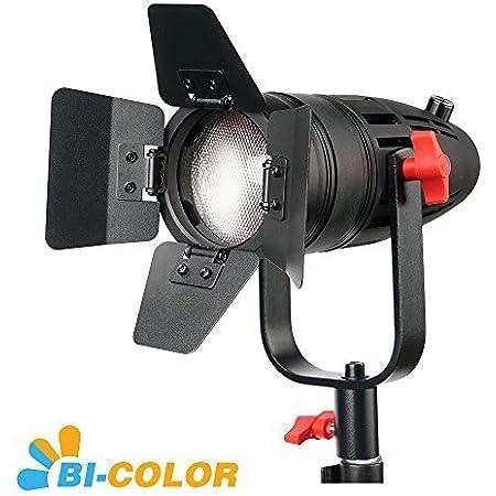 1 Pc Came-TV Boltzen 30w Fresnel Fanless Focusable LED Bi-Color with Bag