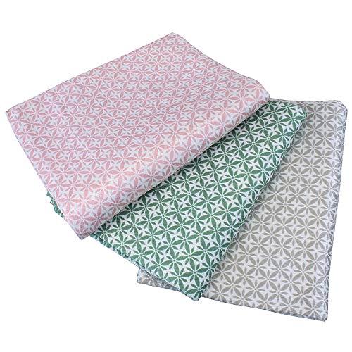 Set van 3 hoogwaardige glazen doekjes/theedoeken. Streepvrije glans. Glazen handdoeken design glazen poetsdoeken. Raamdoeken microvezel. Speciale weeftechniek