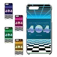 iPhone7 Plus 専用 スマホケース ハードケース カバー 80's ヴェイパーウェイヴ 404 【デザインB】 TK-638B アイフォン セブン プラス