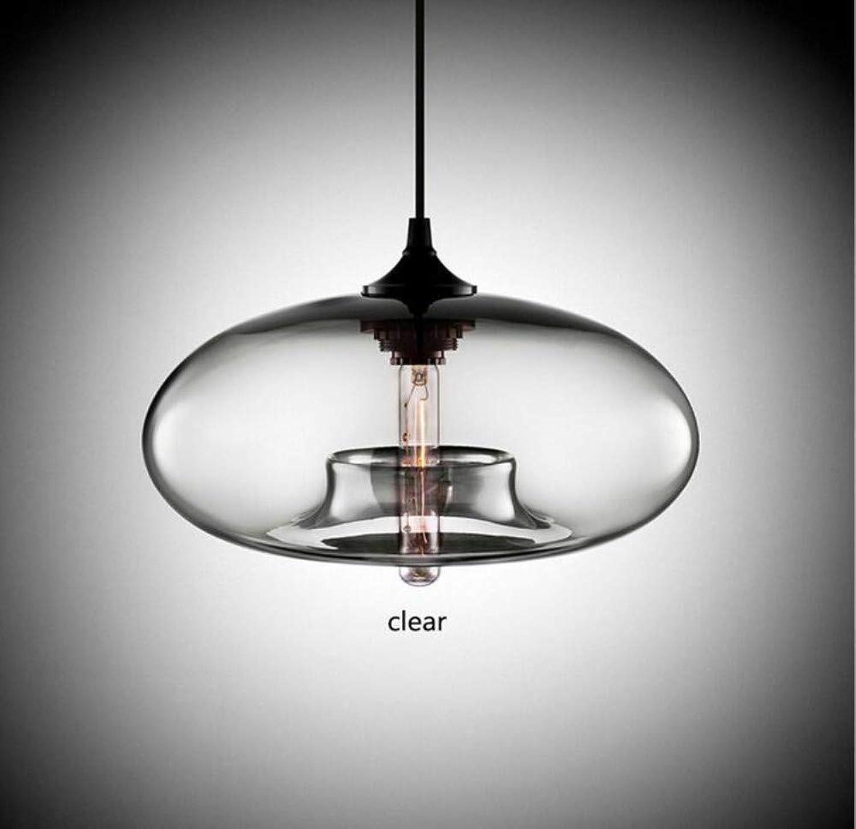 Led Licht Pendelleuchte Zeitgenssische Hngende Glaskugel Pendelleuchten Leuchten E27 Transparente Decke