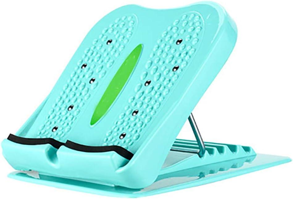 Sgabello pieghevole Pedale Stretch Board Piastre Fitness Board per Fasciite Piedi Massaggio Gamba Dimagrante Isercizio Tavole