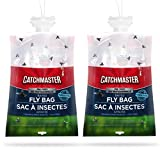 Catchmaster X-Large Outdoor Disposable Fly Bag Trap - Pack of 2 Fly Bags
