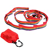 A-A Cuerda para tender de camping, cuerda para tienda de campaña, accesorio de viaje, accesorio para colgar ropa, lámpara de cocina, bolso, 187 cm (sin mosquetón)