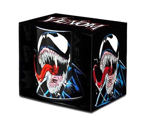 Marvel 6831667000 Tasse, Porzellan, Schwarz, 8 x 8 x 9 cm