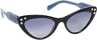 نظارات شمسية كريستال عين القطة من ميو ميو