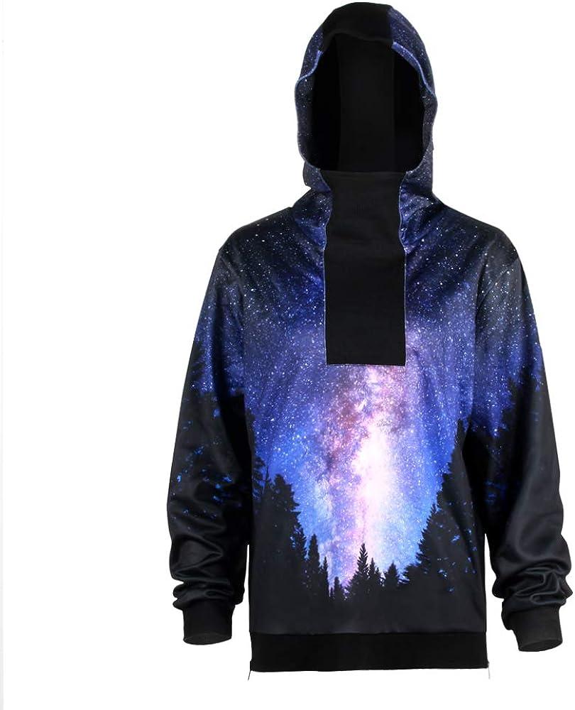 URVIP Unisex Patterns Print Athletic Sweaters Fashion Hoodies Sweatshirts