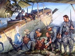 VerettiPosters DV0959 Pilot Aircraft World War 1 WW1 Military Painting Art 32x24 Print Poster