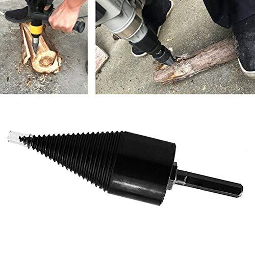 Haushalts-Kaminholzspalter, 32 mm/42 mm, Holzspalter-Bohrer, Hochgeschwindigkeits-Sechskant-Schaft, Spiralbohrer, für elektrische Bohrer/Handbohrer, leicht zu teilen