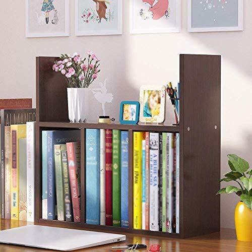 YLCJ Boekenkast Opbergplank voor eenvoudige salontafel slaapzaal voor studenten bureau combinatie voor bureau rack (multi-color optioneel) (Kleur: wit esdoorn)