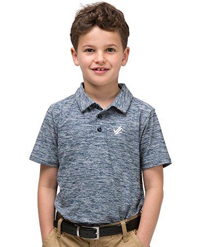 Jolt Gear Jungen Youth Golf Dri Fit Polo Shirt, atmungsaktiv Performance Fit