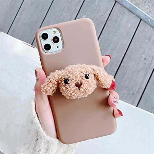 AAA&LIU 3D Soft Phone Hülle für iPhone X XR XS 11 Pro Max 6S 7 8 Plus Halter Abdeckung für Samsung S8 S9 S10 Hinweis, b, für iPhone 11