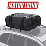 2007 Toyota RAV4 Roof Cargo Boxes - Motor Trend RC200 Rooftop Cargo Carrier Bag – Heavy-Duty Waterproof Design, High Capacity for Top of Vehicle Roof Car, Truck, Van and SUV