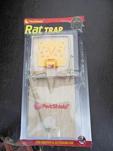 Piège à rats (2) en contreplaqué