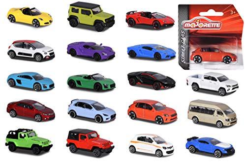 Simba Majorette Street Cars-Veicoli in Metallo, Multicolore, 2053051