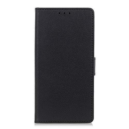 Tanqin Cover LG K40 Retro Design Flip Custodia Case Cover con Magnet Closure Wallet Cover Scheda Slot PU Pelle Morbido Antipolvere Protezione per LG K40 - Nero