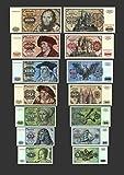 *** 5 - 1000 Deutsche Mark - 7 Banknoten Ausgabe 1970 - 1980 BBK I - Pick 30 - P36 - Reproduktion *** -