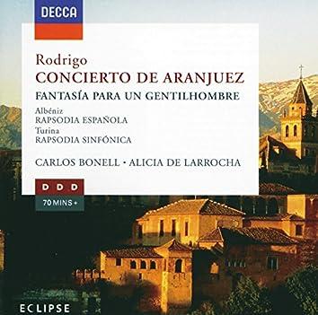 Rodrigo: Concierto de Aranjuez; Fantasia para un gentilhombre etc