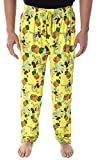 Spongebob Squarepants Men's Pineapple House Adult Loungewear Sleep Pajama Pants (2XL)