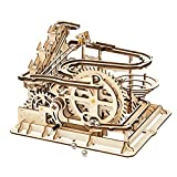 ROKR Marble Run 3D Wooden Puzzles - Mechanical Model Kit for Adults 254PCS DIY Roller Coaster Educational Toys Gifts for Boys/Girls (Marble Parkour)