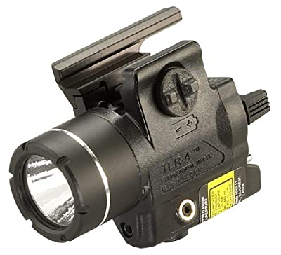 Streamlight 69246 TLR-4 H&K USP Compact Rail Mounted Tactical Light with Integrated Green Laser and Wide Operating Range - 115 Lumens