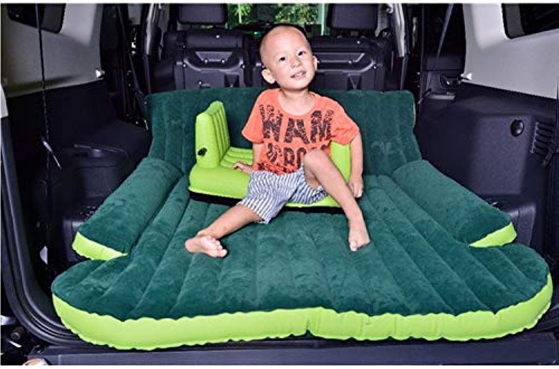 ANJUYA 2019 SUV Inflatable with Air Pump Travel Camping Back Seat Sleeping Mattress CarOutdoor Travel Car Bed Sleeping Inflatable Air Mattress