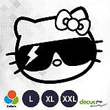 Decus Hello Kitty Gaga//Pegatinas OEM JDM Style Pegatinas