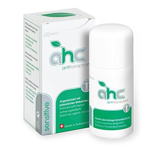 JV Cosmetics - AHC sensitive Antitranspirant - gegen Schwitzen an empfindlichen Hautregionen (30 ml)
