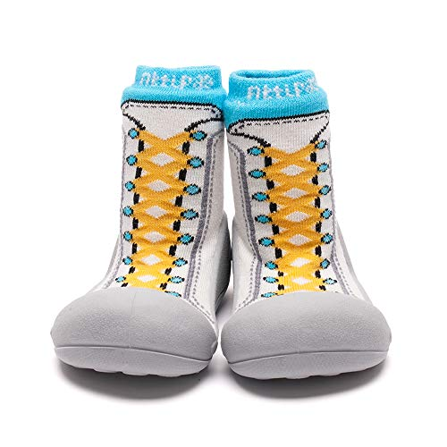 Attipas , {Chaussures premiers pas pour bébé (garçon) Bleu bleu 20