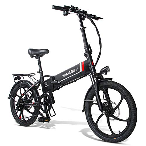 20 Inch Folding Electric Bikes for Adults, 350W 48V Electric Mountain Bike...