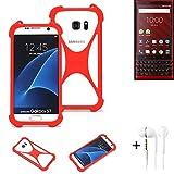 K-S-Trade® Mobile Phone Bumper + Earphones For Blackberry