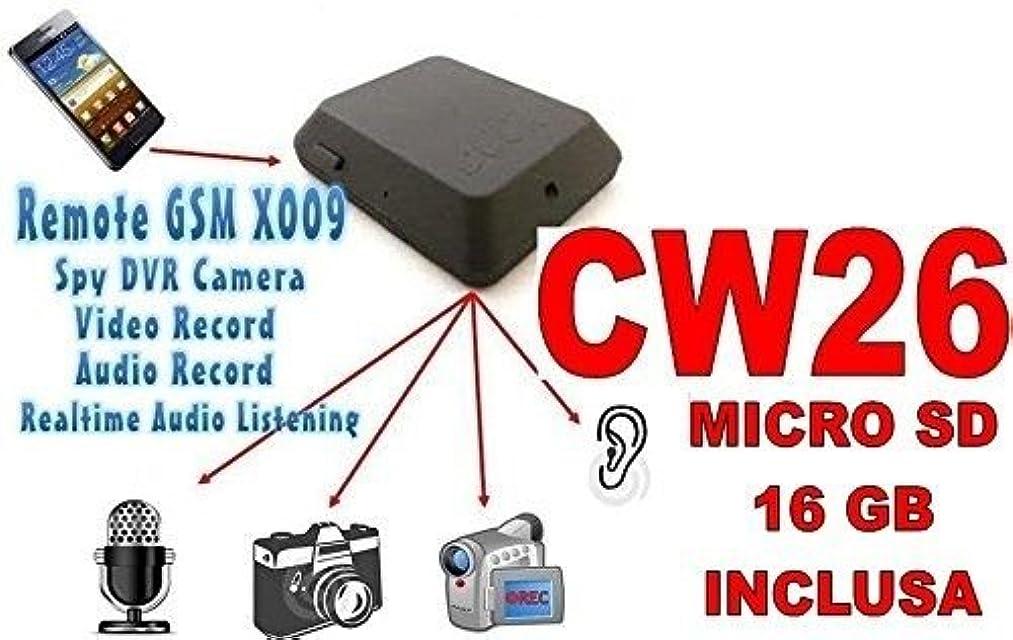 MICRÓFONO OCULTO GSM X009 LUZ AUDIO VÍDEO INTERCEPTACIÓN AMBIENTAL MICRO SD16GB