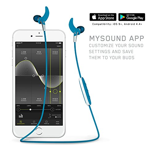Jaybird Freedom Kabellose Kopfhörer, entwickelt für Sport, Joggen und Fitness (Premium-Kopfhörer über Bluetooth) Schwarz