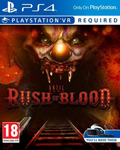 Sony Until Dawn: Rush of Blood, PlayStation VR Básico PlayStation 4 vídeo - Juego (PlayStation VR, PlayStation 4, Shooter, M (Maduro))