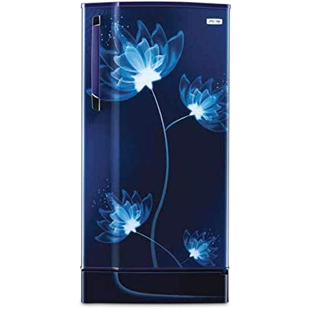 Godrej 205C 33 TAI Glass Direct Cool 3 Star Inverter Refrigerator (Blue,  190 ltrs): Amazon.in: Home & Kitchen