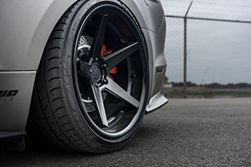 "20"" Inch Ferrada FR3 Matte Black/Gloss Black Lip Concave Wheels Rims | Set of 4 | Fits Chevrolet Camaro LT LS SS 1SS 2SS ZL1"