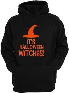 Casual Hooded Pockets Sweatshirt Men Halloween Long Sleeve Print Letter Sweatshirt Tops Jacket Coat