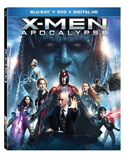 X-men: Apocalypse [Blu-ray + DVD + Digital HD]]