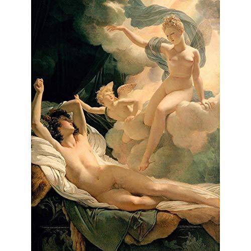 Painting Portrait Mythology Greek Guerin Morpheus Iris Unframed Wall Art Print Poster Home Decor Premium
