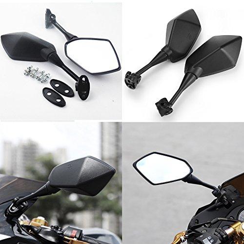 Taben Motorrad Rückfahrkamera Seite Spiegel hawk-eye mit 7/20,3cm Lenkerklemmung für Kawasaki Suzuki Honda Victory Chopper