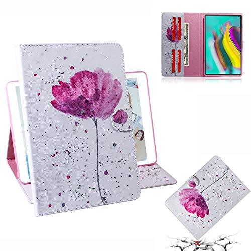 SHUYIT Samsung Galaxy Tab S5e 10.5 2019 T720 / T725 Hülle, Gemalt PU Leder Tasche Flip Ständer Case Cover Magnetisch Handyhülle Schutzhülle für Samsung Galaxy Tab S5e 10.5 2019 T720 / T725 Schale Etui