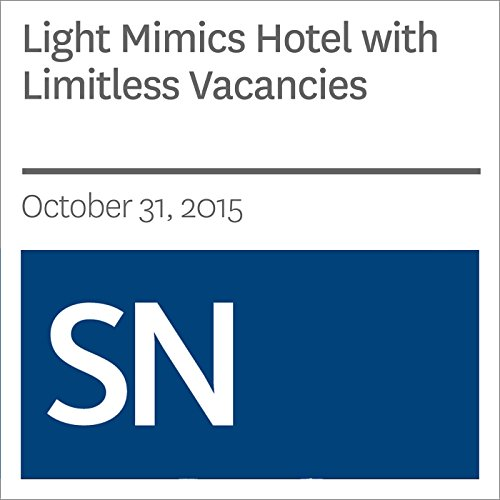 Light Mimics Hotel with Limitless Vacancies                   By:                                                                                                                                 Andrew Grant                               Narrated by:                                                                                                                                 Mark Moran                      Length: 4 mins     Not rated yet     Overall 0.0