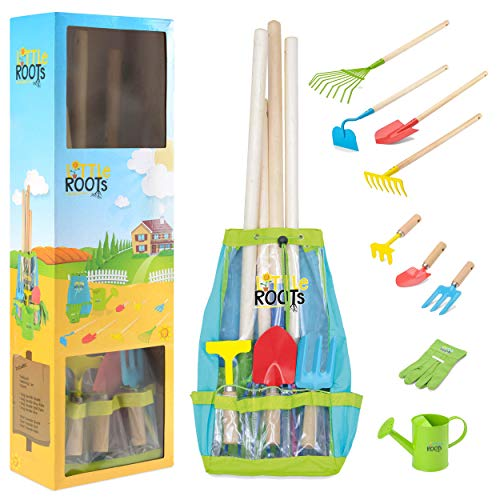 Little Roots BGG1654 Kids Tool Kit Backpack, Toy Tool Box Set for Children, Multi-Colour