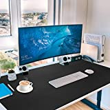 Leather Desk Pad Large,36' x 20',Gaming Mouse,Extended Blotter Protector,Toneseas Premium Writing Mat,Durable,Water Resistant,Oil-Proof for Office Supplies Thanksgiving Christmas Day
