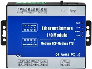 MagiDeal M120T Modbus Remote IO Module (4DIN+4AIN+2AO+4DO) Data Acquisition Module