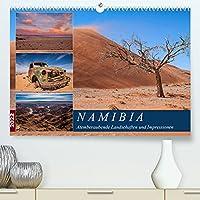 Namibia - Atemberaubende Landschaften und Impressionen (Premium, hochwertiger DIN A2 Wandkalender 2022, Kunstdruck in Hochglanz): Bilderreise durch die faszinierende Landschaft Namibias (Monatskalender, 14 Seiten )