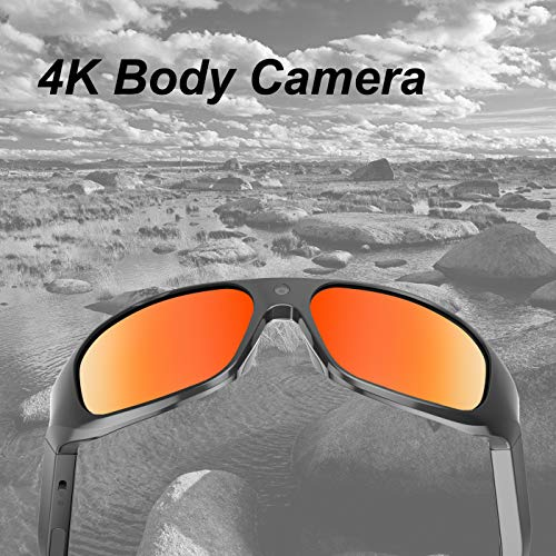 OHO 4K Ultra HD Water Resistance Video Sunglasses, Sports Action...