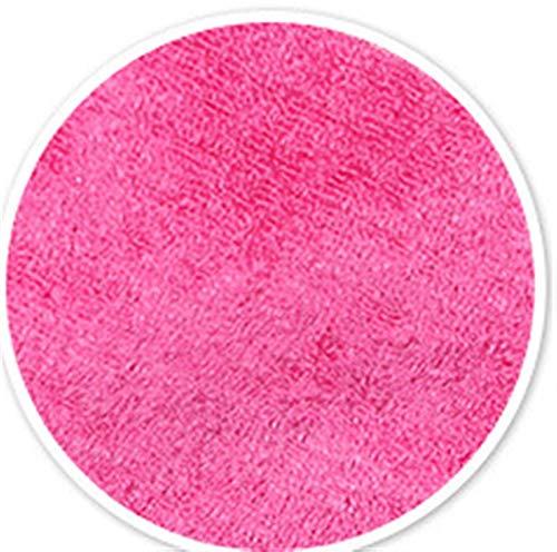 Torchons de cuisine Tissu de vaisselle 5pcs, fibre de bambou, serviette à plat anti-graisse à haute efficacité, nettoyage de cuisine tissu d'essuyage, six couleurs Pour la maison (Color : Pink)
