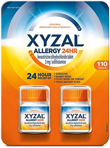 Xyzal Allergy Pills, 24-Hour Allergy Relief,...