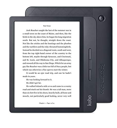 Kobo Libra H2O lettore e-book Touch screen 8 GB Wi-Fi Nero